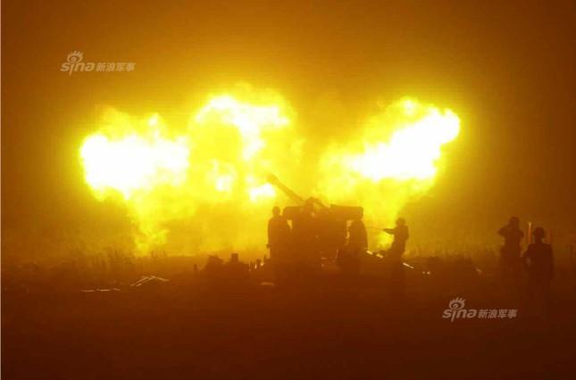 Pháo binh Triều Tiên đồng loạt khai hỏa trong đêm ảnh 4