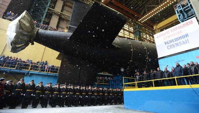Nga hạ thủy tàu ngầm mạnh nhất Hải quân Liên bang ảnh 1