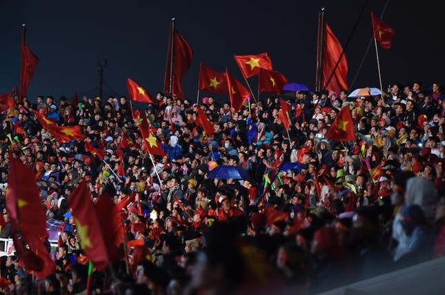 U23 Việt Nam hát 'Niềm tin chiến thắng' trên sân Mỹ Đình ảnh 18