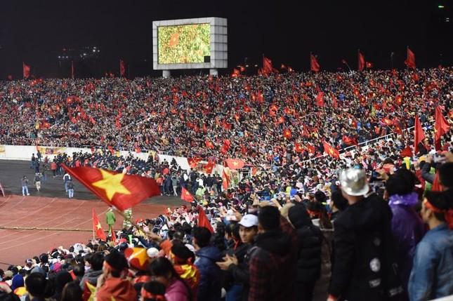 U23 Việt Nam hát 'Niềm tin chiến thắng' trên sân Mỹ Đình ảnh 20