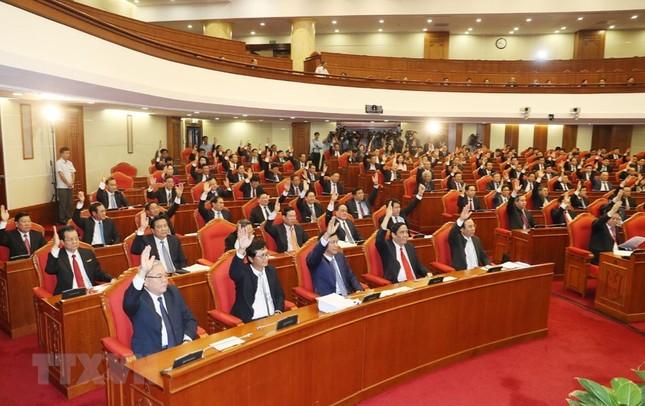 Hình ảnh Bế mạc Hội nghị lần 7 Ban Chấp hành Trung ương Đảng khóa XII ảnh 3