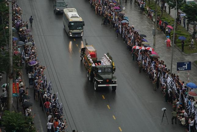 Chủ tịch nước Trần Đại Quang trở về đất mẹ ảnh 23