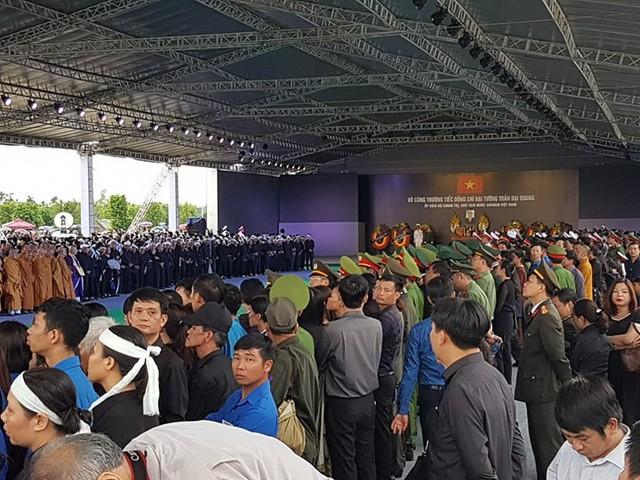 Chủ tịch nước Trần Đại Quang trở về đất mẹ ảnh 44