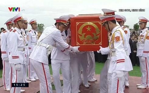 Chủ tịch nước Trần Đại Quang trở về đất mẹ ảnh 64