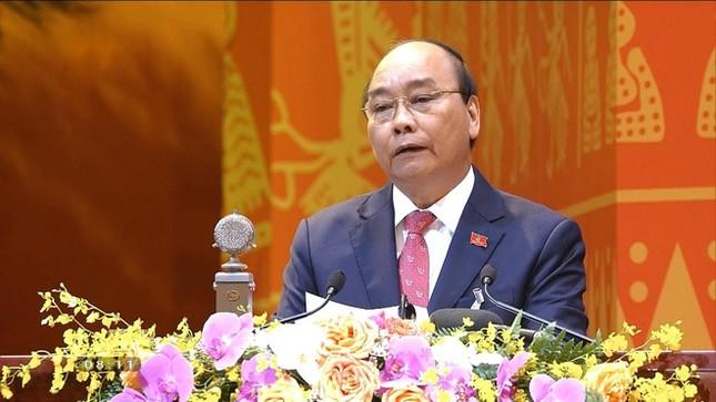 Tổng Bí thư, Chủ tịch nước: 'Không thế lực nào có thể ngăn cản nổi dân tộc ta đi lên' ảnh 10