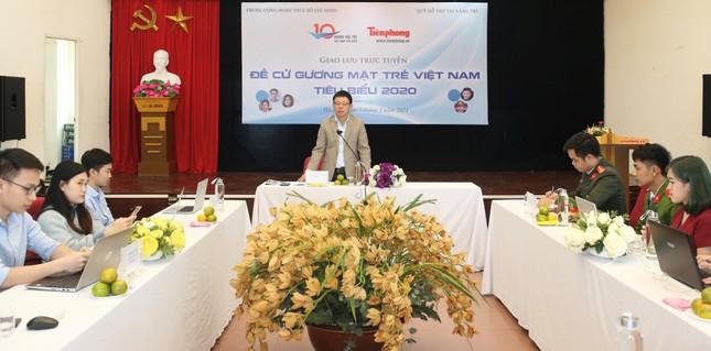 Giao lưu trực tuyến 5 đề cử Gương mặt trẻ Việt Nam tiêu biểu 2020 ảnh 8