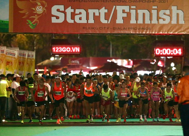 Hồng Lệ vô địch cự ly 42,195 km ảnh 107