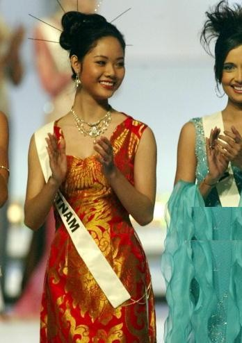 Hoa hậu Việt Nam đầu tiên thi Miss World và là người đẹp kín tiếng nhất dàn hậu ảnh 2