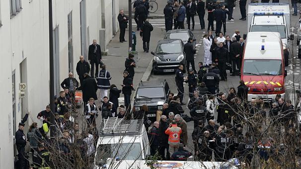 [ẢNH] Hiện trường vụ thảm sát kinh hoàng tòa báo ở Pháp ảnh 5