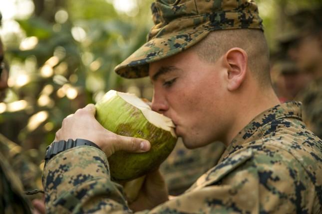 Lính Mỹ học cách ăn sống bọ cạp để tồn tại trong rừng ảnh 4