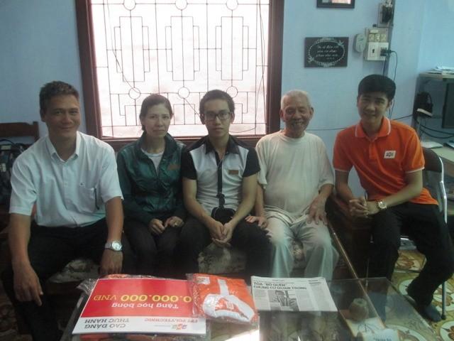 FPT Polytechnic tặng học bổng cho em Đỗ Quang Thiện ảnh 1