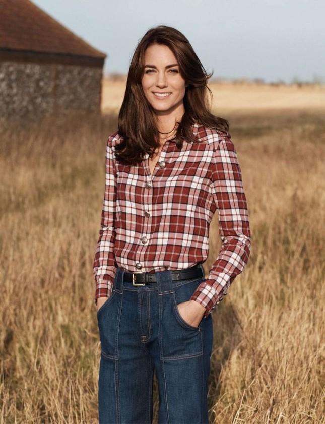 Hình ảnh khác lạ của công nương Kate Middleton ảnh 5