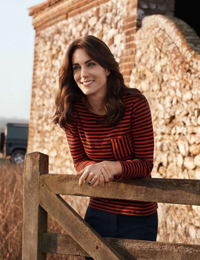 Hình ảnh khác lạ của công nương Kate Middleton ảnh 2