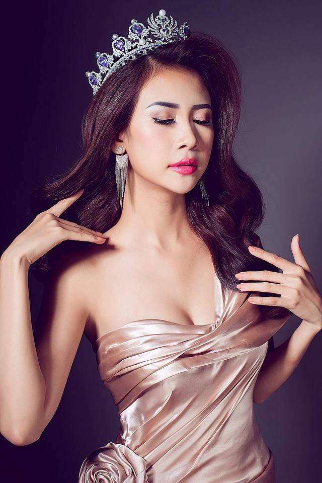 Nhan sắc quyến rũ của Liên Phương - Á khôi 1 Hoa hậu Đại sứ du lịch ảnh 1