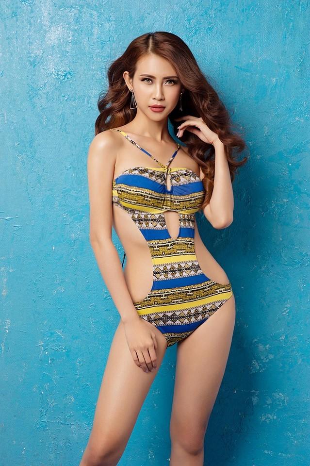 Nhan sắc quyến rũ của Liên Phương - Á khôi 1 Hoa hậu Đại sứ du lịch ảnh 9
