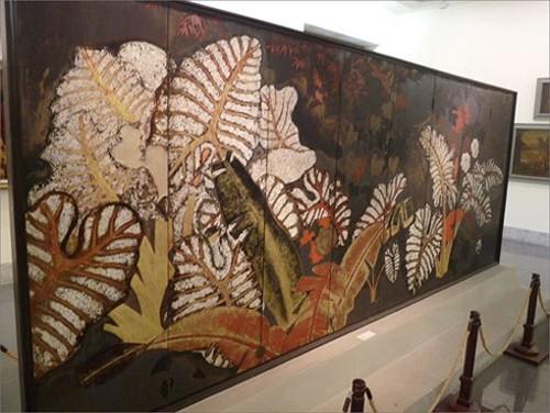 Đây là 3 bức sơn mài bảo vật quốc gia ở Bảo tàng Mỹ thuật ảnh 1