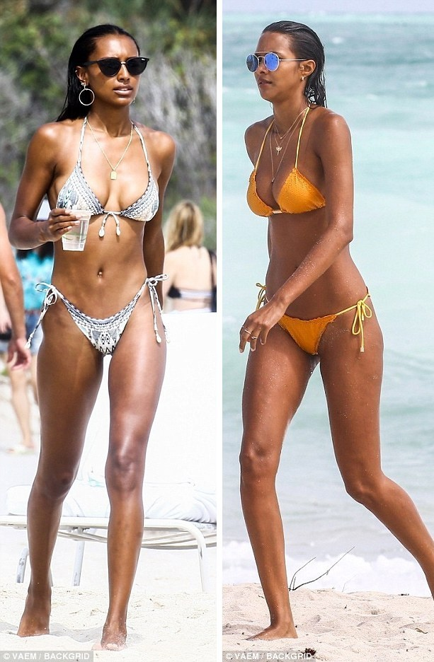 Thiên thần Victoria's Secret khoe 3 vòng 'bốc lửa' trên bãi biển ảnh 6
