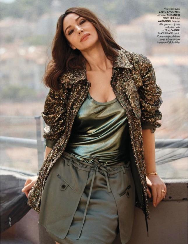 Người đàn bà đẹp nước Ý Monica Bellucci khoe nhan sắc không tuổi ảnh 7