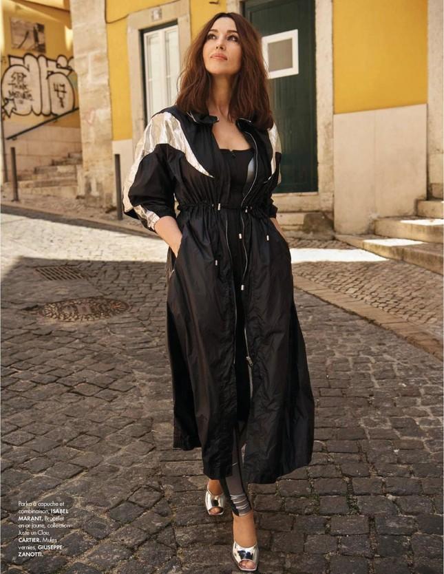 Người đàn bà đẹp nước Ý Monica Bellucci khoe nhan sắc không tuổi ảnh 8