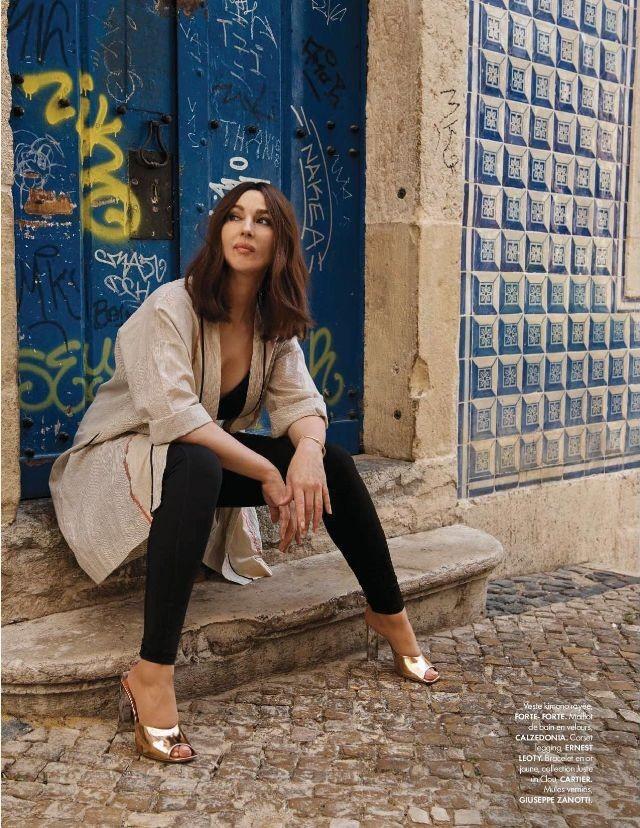 Người đàn bà đẹp nước Ý Monica Bellucci khoe nhan sắc không tuổi ảnh 2