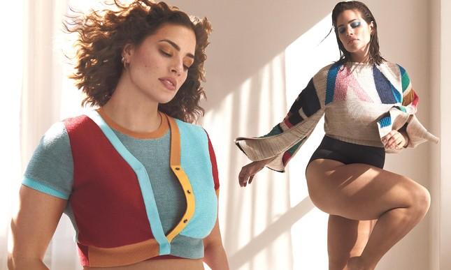 Siêu mẫu ngoại cỡ Ashley Graham khoe dáng nảy nở sexy hết nấc ảnh 1