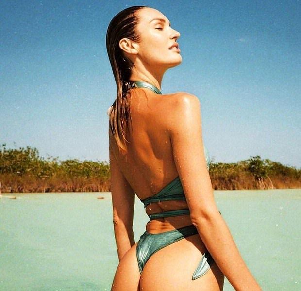 Candice Swanepoel tung ảnh bán nude khoe vóc dáng nuột nà gợi cảm ảnh 5