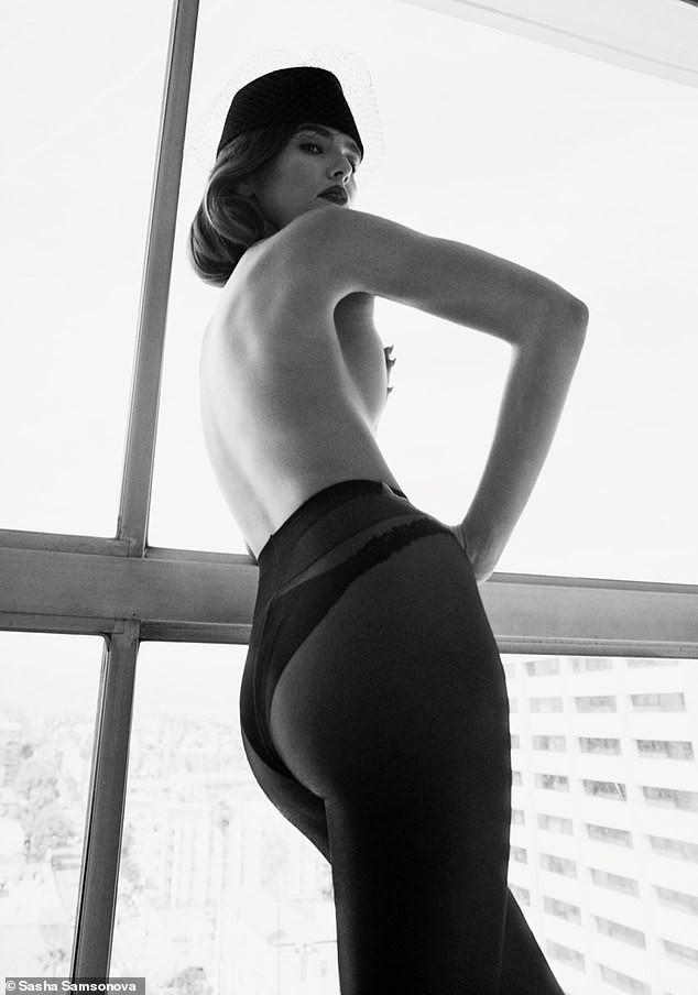 Zoey Deutch cởi đồ, bán nude tuyệt đẹp trên tạp chí ảnh 1
