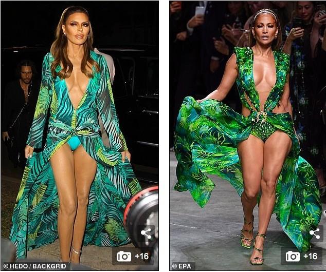 Lisa Rinna hoá thân thành Jennifer Lopez với bộ cánh không thể bạo hơn ảnh 2