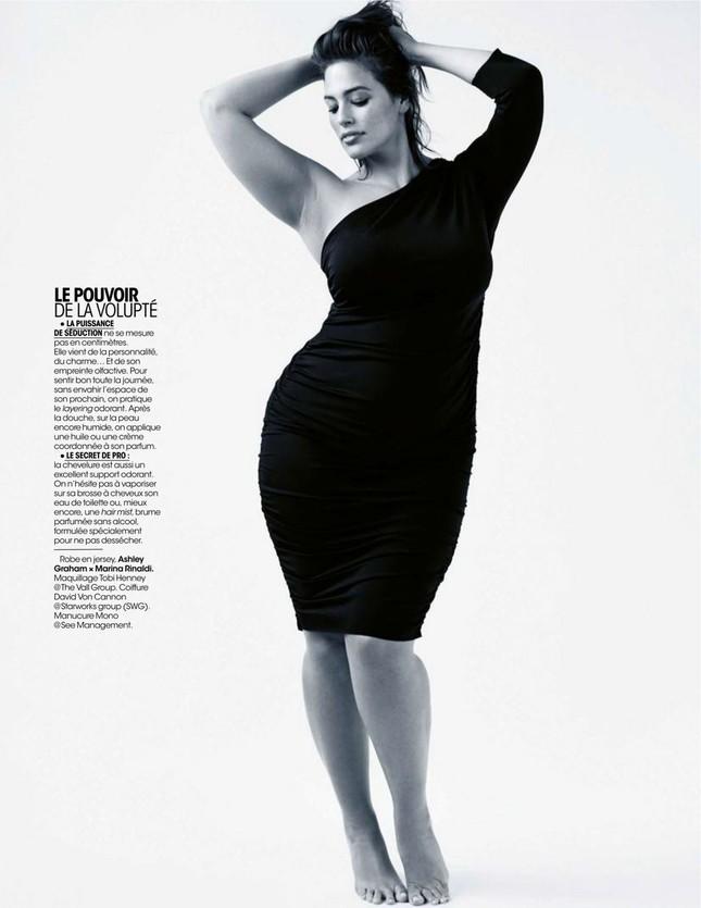 Siêu mẫu ngoại cỡ Ashley Graham tròn đầy hấp dẫn 'khó cưỡng' ảnh 6