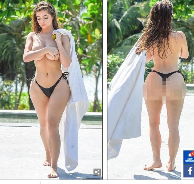 Loạt ảnh bán nude 'bỏng mắt' của 'nữ hoàng nội y' Demi Rose ảnh 3