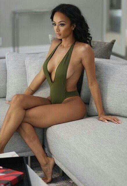 Thân hình 'bốc lửa' gây chao đảo của mỹ nhân da màu Draya Michele ảnh 7