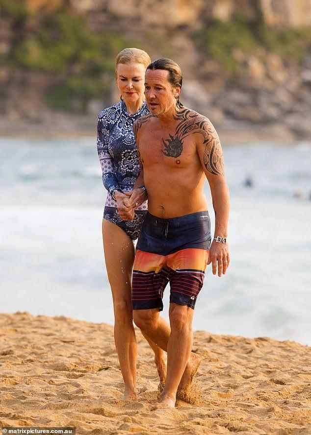 'Thiên nga nước Úc' Nicole Kidman đi nghỉ hạnh phúc bên chồng ảnh 4