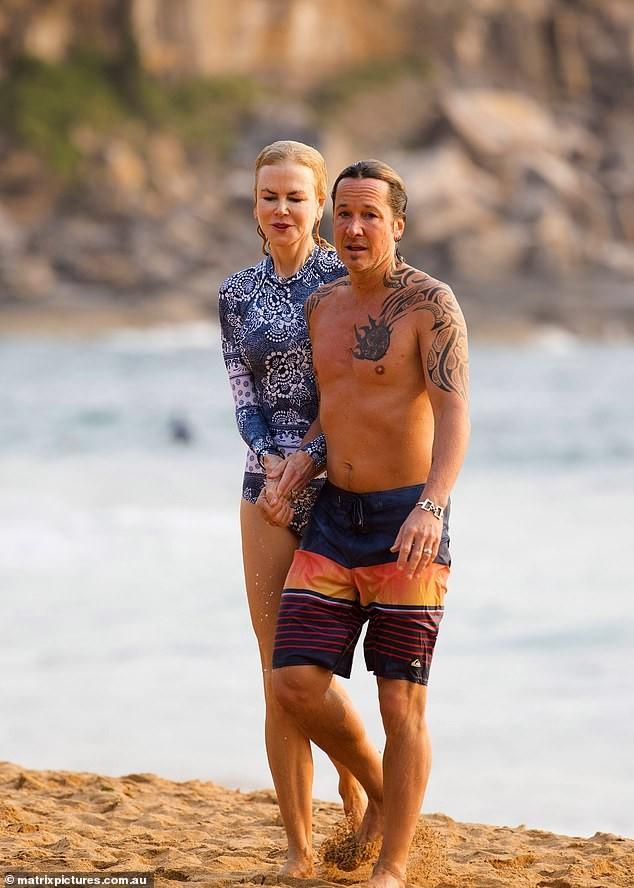 'Thiên nga nước Úc' Nicole Kidman đi nghỉ hạnh phúc bên chồng ảnh 5