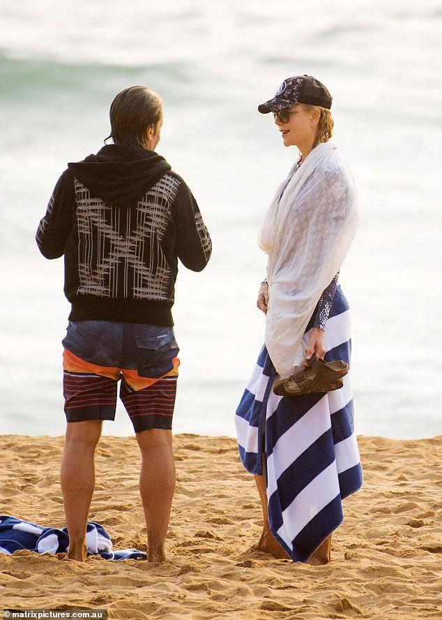'Thiên nga nước Úc' Nicole Kidman đi nghỉ hạnh phúc bên chồng ảnh 6