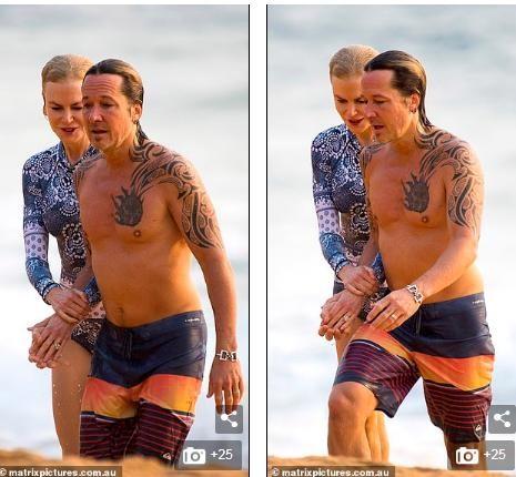 'Thiên nga nước Úc' Nicole Kidman đi nghỉ hạnh phúc bên chồng ảnh 2