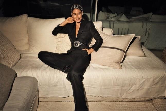 Ngưỡng mộ vóc dáng đẹp như tạc tượng của chân dài Doutzen Kroes ảnh 4