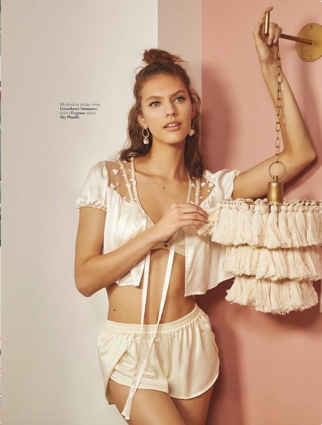 Nhan sắc đẹp như thiên thần của người mẫu Maggie Jablonski ảnh 5