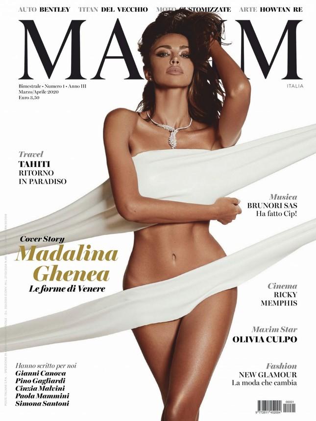 Madalina Ghenea khoả thân trên tạp chí đàn ông, nóng bỏng 'gây mê' ảnh 1