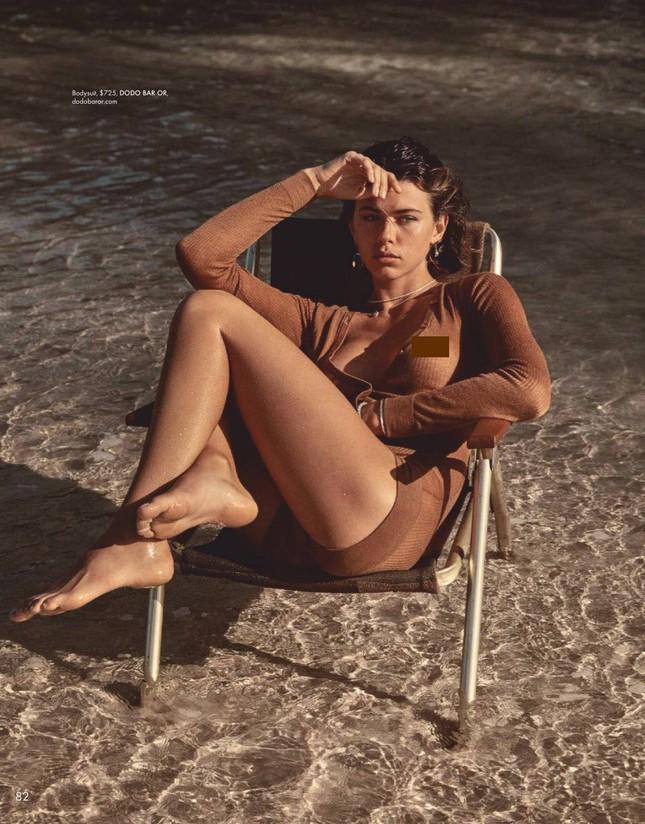 Chân dài Victoria's Secret chụp ảnh ngực trần, gợi cảm mơn mởn như thiếu nữ ảnh 5