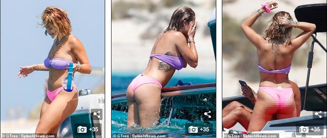 Rita Ora mặc bikini 'bốc lửa' vẫn khiến fan thất vọng ảnh 2