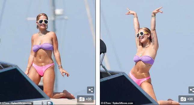 Rita Ora mặc bikini 'bốc lửa' vẫn khiến fan thất vọng ảnh 3
