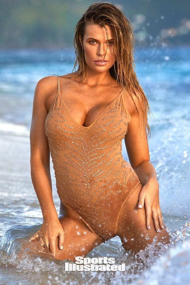 Samantha Hoopes nóng bỏng 'nghẹt thở' trên tạp chí áo tắm danh tiếng ảnh 1