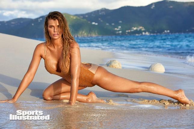 Samantha Hoopes nóng bỏng 'nghẹt thở' trên tạp chí áo tắm danh tiếng ảnh 2