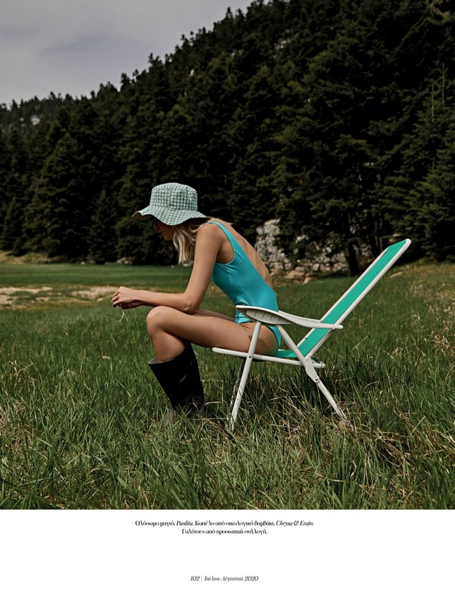 Ngất ngây ngắm sắc vóc gợi cảm của mỹ nhân Hy Lạp Nadia Serlidou ảnh 5