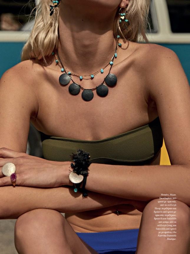 Ngất ngây ngắm sắc vóc gợi cảm của mỹ nhân Hy Lạp Nadia Serlidou ảnh 8