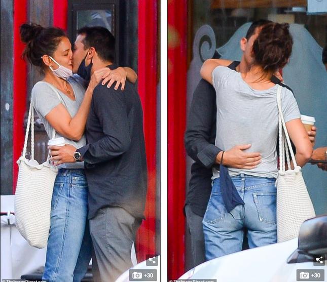 Katie Holmes hôn say đắm bồ trẻ, dường như chưa hạnh phúc như thế sau ly hôn Tom Cruise ảnh 3