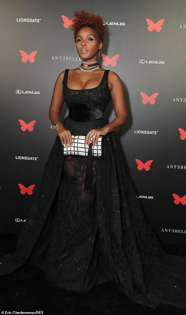 Người đẹp đa tài Janelle Monae mặc tôn ngực gợi cảm dự ra mắt phim ảnh 3