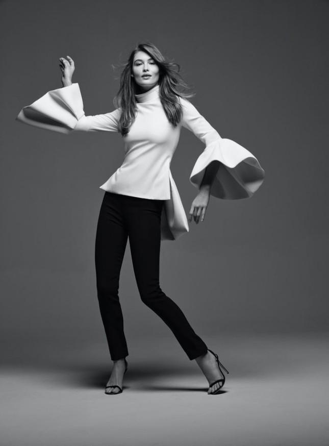 'Thiên thần nội y' Grace Elizabeth thả dáng siêu quyến rũ trong bộ ảnh high fashion ảnh 1