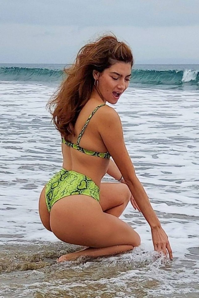 Blanca Blanco phô thể hình cực nóng bỏng, đẹp nhất nhì Hollywood ảnh 1