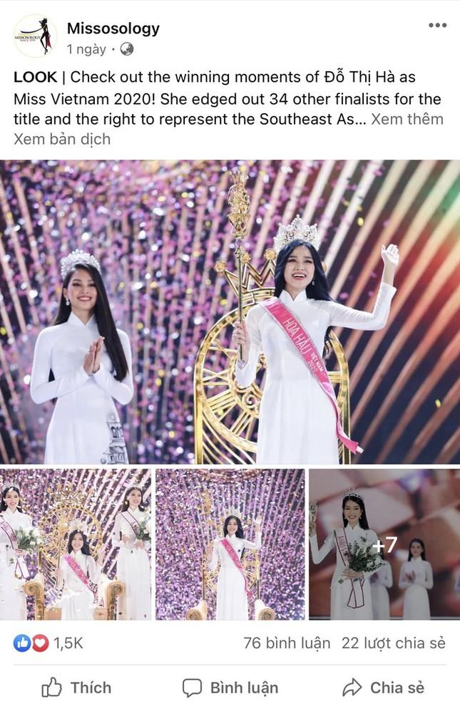 Đỗ Thị Hà kể về hình ảnh đầu tiên hiện lên khi được xướng tên ngôi vị Hoa hậu ảnh 1